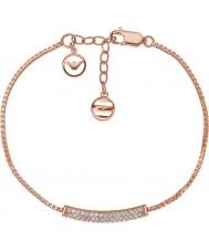 Emporio Armani EG3260221 Ladies Stelle pure bane rosa guld sterling sølv armbånd