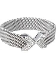 Skagen JRS0015S7 Ladies charlotte blød mesh ring - størrelse o