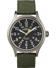 Timex T49961 Mens ekspeditionen spejder grøn ur