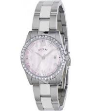 Rotary LB02343-07 Ladies Ure havana krystal sæt ur