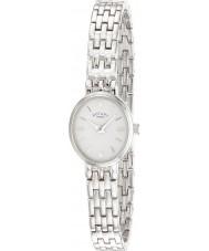 Rotary LB02083-02 Ladies Ure hvid sølv ur