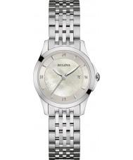 Bulova 96S160 Ladies diamant galleri sølv stållænke ur