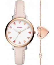 Fossil ES4351SET Ladies jacqueline watch gave sæt