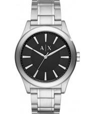 Armani Exchange AX2320 Mens kjole sølv stållænke ur