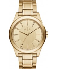 Armani Exchange AX2321 Herre kjole forgyldt armbånd ur