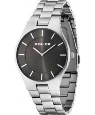 Police 14640MS-61M Mens pragt sølv stållænke ur
