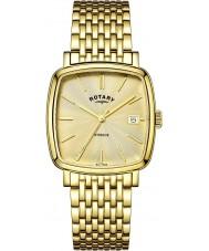 Rotary GB05308-03 Mens ure windsor champagne forgyldt ur