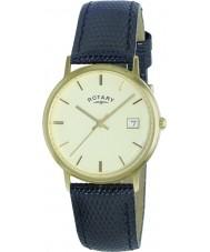 Rotary GS11476-03 Mens ædle metaller 9kt guld urkasse ur