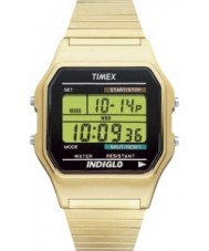 Timex T78677 Mens guld klassiske digitale kronograf ur
