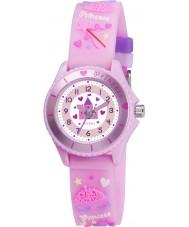 Tikkers TK0036 Piger pink fairy prinsesse ur