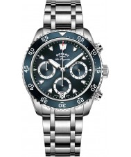 Rotary GB90170-05 Mens ure arv sølv kronograf ur