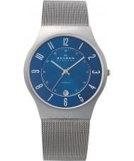 Skagen 233XLTTN Mens klassik titanium sølv mesh ur