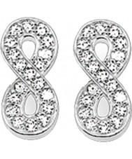Thomas Sabo H1877-051-14 Ladies zirconia bane uendeligt sølv ørestikker