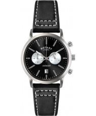 Rotary GS02730-04 Mens Ure sport hævner sort kronograf ur