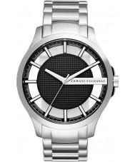Armani Exchange AX2179 Mens kjole sølv stållænke ur