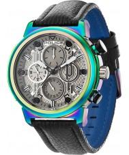 Police 14250XSRW-61 Mens boa sort læderrem ur