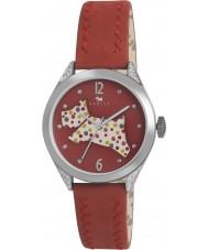 Radley RY2175 Ladies rød læderrem ur