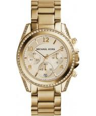 Michael Kors MK5166 Ladies forgyldt kronograf ur