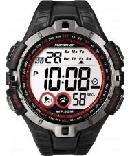Timex T5K423 Herre rød sort marathon sport ur