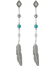 Thomas Sabo H1911-646-17 Ladies sølv Dreamcatcher etno fjer øreringe