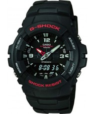 Casio G-100-1BVMUR Mens g-shock kombination display ur