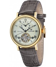 Thomas Earnshaw ES-8047-03 Mens Beaufort brun crock læderrem ur