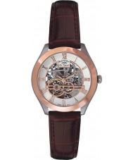 Rotary GS90511-21 Mens les originales jura automatisk skelet rosa guld ur