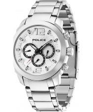 Police 13934JS-04M Mens triumf sølv stål ur