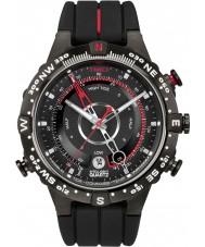Timex T2N720 Mens alle sorte tidevand temp kompas ur