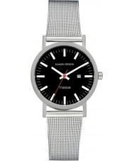 Danish Design V63Q199 Ladies sølv stålnet armbånd ur