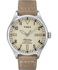 Timex TW2P83900 Mens waterbury tan læderrem ur