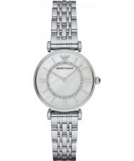 Emporio Armani AR1908 Ladies forsølvede link armbånd kjole ur