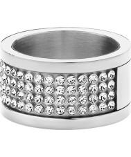 Dyrberg Kern 330961 Ladies emily ii sølv stål krystal ring