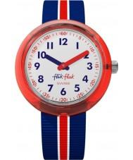 Flik Flak FPNP026 Drengens røde band ur