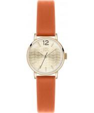 Orla Kiely OK2016 Ladies frankie appelsin læderrem ur