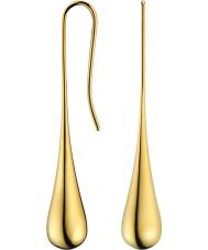 Calvin Klein KJ3QJE100100 Ladies ellipse Forgyldte øreringe