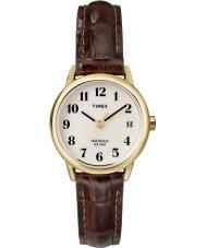 Timex T20071 Ladies naturlig brun let læser ur
