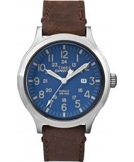 Timex TW4B06400 Mens ekspeditionen spejder brun læderrem ur