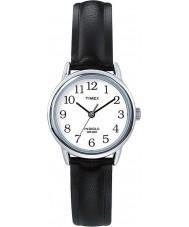 Timex T20441 Ladies sølv sort let læser ur