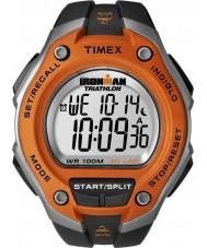 Timex T5K529 Herre appelsin sort ironman 30 skødet oversize sport ur