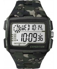 Timex TW4B02900 Mens ekspeditionen digital chok khaki camo chrono ur