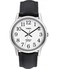Timex T20501 Mens White sort let læser ur