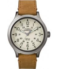 Timex TW4B06500 Mens ekspeditionen spejder tan læderrem ur