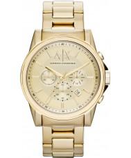 Armani Exchange AX2099 Mens forgyldt kronograf dress watch