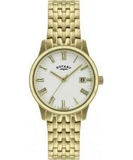 Rotary GB00794-32 Mens ultra slanke forgyldt ur
