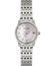 Rotary LB00792-07 Ladies Ure perle sølv ur